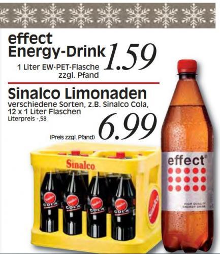 [Überregional] effect energy 1 Liter-Flasche für 1,59 € @REWE