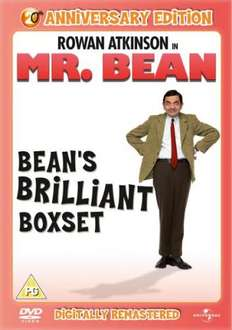 DVD - Mr. Bean: Bean's Brilliant Box Set (4 Discs) für €12,27 [@Zavvi.com]