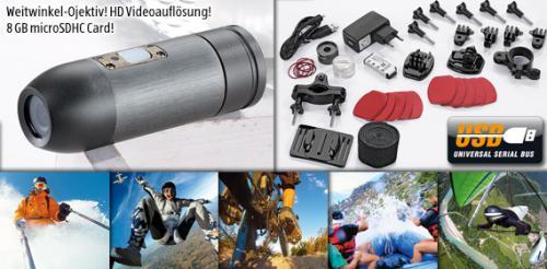[OFFLINE] ab 6.12.12 Donnerstag MAGINON® Action Sports HD1 Action Camcorder ALDI SÜD alternative zu HD Hero 2 Digital