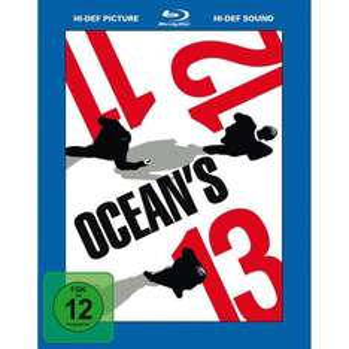[BLU-RAY] Ocean's Trilogie (Ocean's 11 + 12 + 13) @ Amazon.de für 14,97 EUR