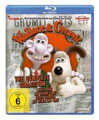 Wallace & Gromit - The Complete Collection [Blu-ray] für 5,97 Euro @ Amazon.de