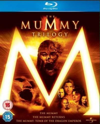 Blu-Ray - Die Mumie Trilogie (3 Discs) für €12,26 [@TheHut.com]