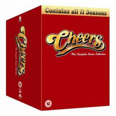 Cheers - The Complete Seasons Box Set (alle 11 Staffeln/ 43 DVDs/ englisch) + zzgl. ggf. 19% EUSt. (11,30€)
