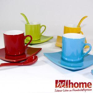 12tlg. Porzellan-Tassenset gratis, bei Belhome.de (20€ MBW)