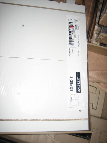 [Lokal Ikea Bielefeld/Hannover] Expedit Schubladen grau oder weiß 9,90 Euro