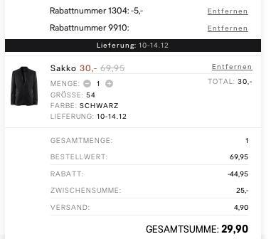H&M SALE bis zu 50% Rabatte + Gutscheine