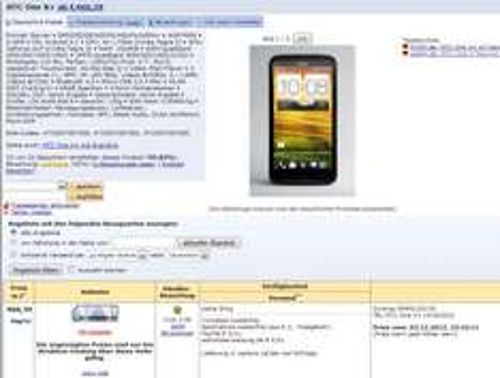 HTC One X+ für 499,90 €