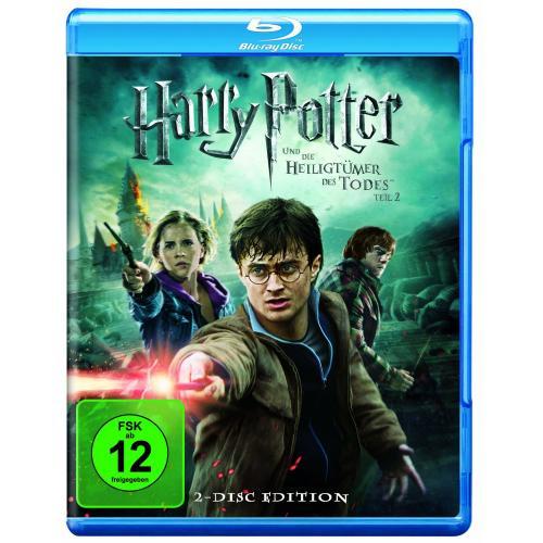 Harry Potter und die Heiligtümer des Todes (Teil 2) (2 Discs) [Blu-ray] @Amazon.de