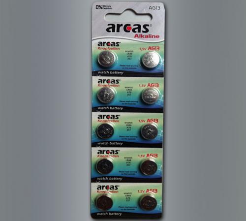 10er-Pack Knopfzellen AG13 für nur 1,09 EUR inkl. Versand!