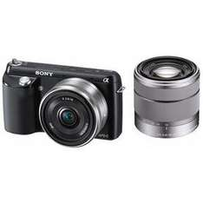 AUSVERKAUFT! Sony NEX-F3 mit 18-55mm Objektiv und 16mm Pancake
