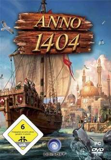[amazon adventskalender 4. Dez.] ANNO 1404 Standard Ed. für 5,97 (download)