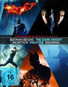 Christopher Nolan Collection [Blu-ray] für 27,99 €@ Amazon. de