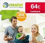 [Qipu] Zahnzusatversicherung bei Asstel: 64€ Cashback+ 20€ BestChoice Gutschein