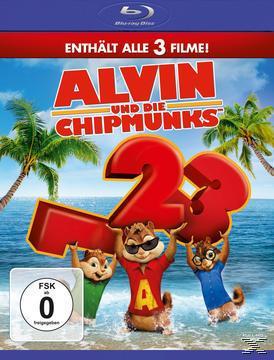 Alvin und die Chipmunks - Teil 1-3 & Passengers Blu Ray zusammen für 20,98 Euro @ Buch.de