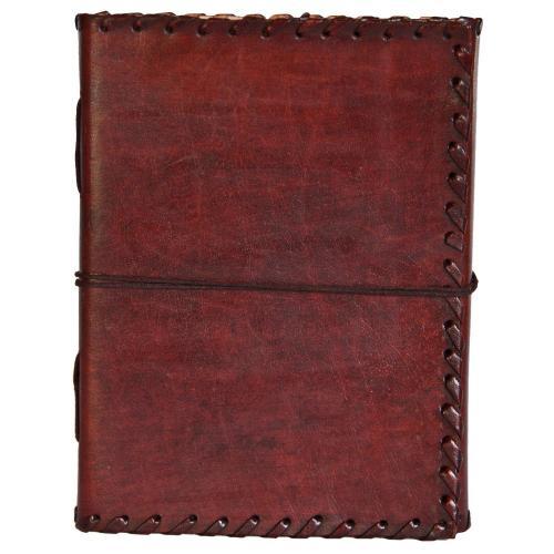 Weihnachtsgeschenk: Notizbuch aus Büffelleder
