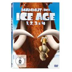 Ice Age - Teil 1-4 [4 DVDs] @Amazon für 19,99€