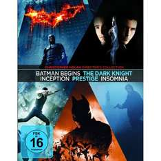 [Amazon] Christopher Nolan Collection [Blu-ray] 27,99€ (5 Filme/7Discs)