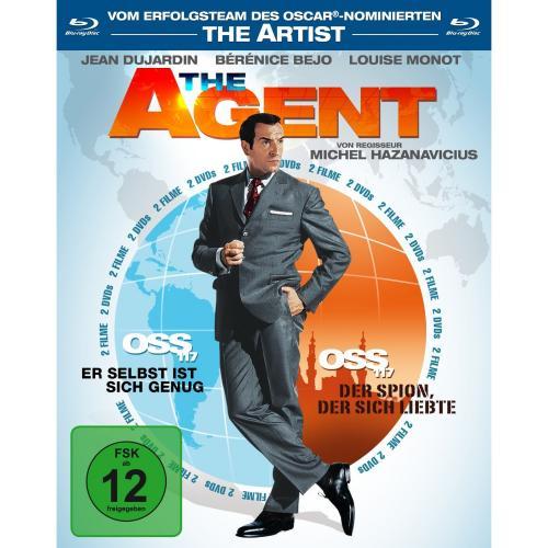 The Agent - OSS 117, Teil 1 & 2 (2 Blu-rays) für 9,99 € @Amazon