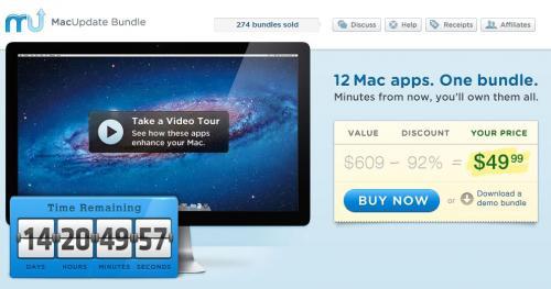 MacUpdate Winter Bundle mit 12 Apps inkl. DVD Ripper Pro und Data Rescue 3 für nur 49,99$ (38,24€) – Ersparnis von 92%