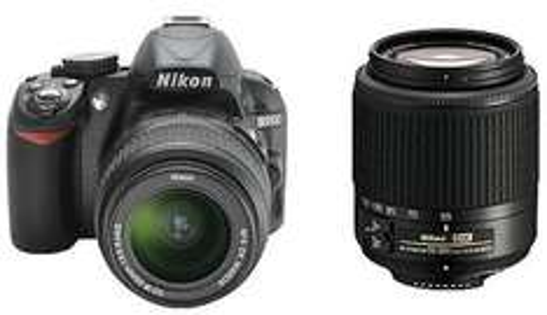 [Saturn] Nikon D3100 mit zwei Objektiven (18-55 mm und 55-200 mm)