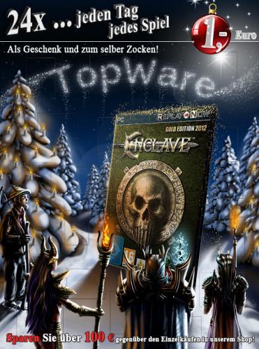 TopWare-Spiele für nur einen 1 Euro im Adventskalender
