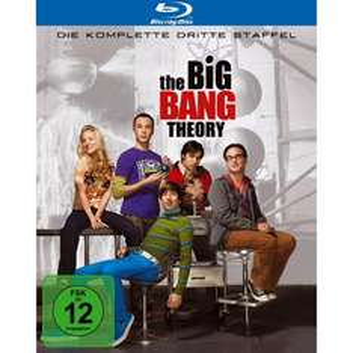 The Big Bang Theory Staffel 3 Blu Ray für 16,99 € bei Amazon!