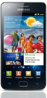 Samsung Galaxy S II 9100 black
