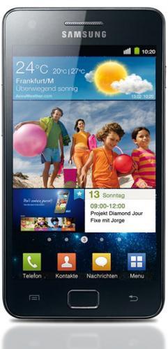 Samsung Galaxy S II 9100 black