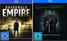 Blu-ray Game of Thrones - Staffel 1 & Boardwalk Empire - Staffel 1 jeweils 24,99€ bei Saturn (Bundesweit)