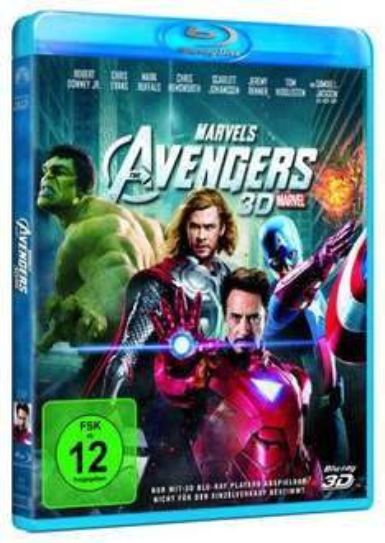 [BLU-RAY] Marvels The Avengers in 3D für nur 16,- EUR inkl. Versand!