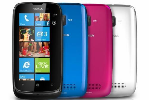 """Nokia™ - Lumia 610 Smartphone (3.7"""" 800x480,8GB,5MP,WP7.5) für €111.- [@MediaMarkt Rendsburg]"""