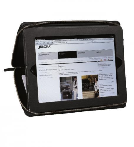Echt Leder iPad Hülle für 20,50 € statt 45,00 €  - B-WARE - über 50% gespart (im Vergleich zur A-Ware)
