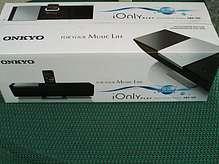Onkyo ABX-100 Dock-Music System für Apple iPod iPhone mit Fernbedienung