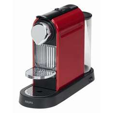 Krups XN 7006 Nespresso CitiZ fire-engine red mit 50€ Gutschein für 99€ @ Amazon
