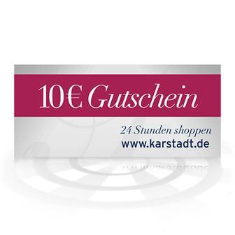 10 Euro Karstadt-Gutschein für Karstadt.de und karstadtsports.de - PayPal-Aktion