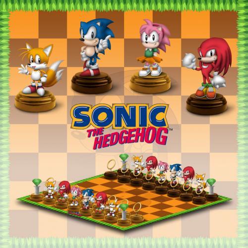 Sonic The Hedgehog 32 Figuren Schach