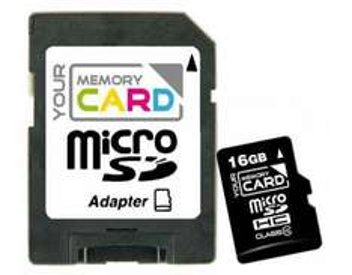 YourMemoryCard 16GB microSDHC Class 10 + Adapter für 8,99€ und 32GB Version für 17,99€ @Meinpaket
