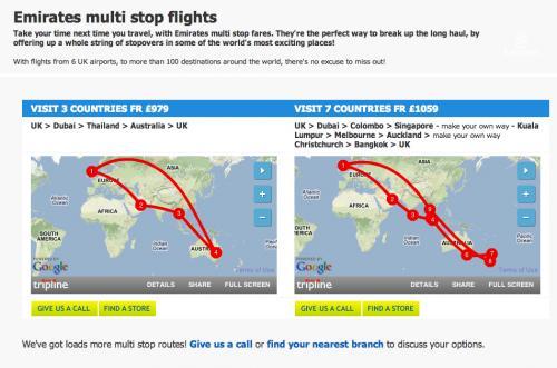 Flug: Emirates Special von London – 7 Länder (Dubai, Asien, Australien, Neuseeland etc.) für 1314€ anfliegen