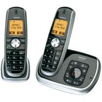 AUDIOLINE MATRIX 482 DUO (sind wirklich zwei) SCHNURLOSES DECT TELEFON mit AB zu 24,70€ @voelkner inkl. VSK in gemeiner Kombination