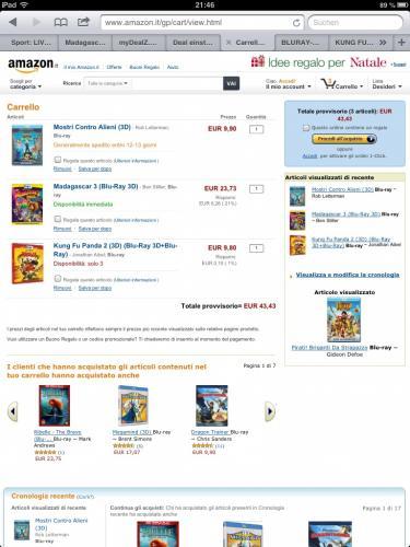 3D Blu-rays: Kung Fu Panda 2 plus Monster vs. Aliens plus Madagascar 3 - Flucht durch Europa