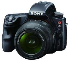 Sony Alpha 37 Kit 18-55mm (SLT-A37K) für 417,73 €  @Meinpaket.de (Quickshopping)