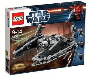 LEGO Star Wars Sith Fury-class Interceptor 9500 für 62,99€