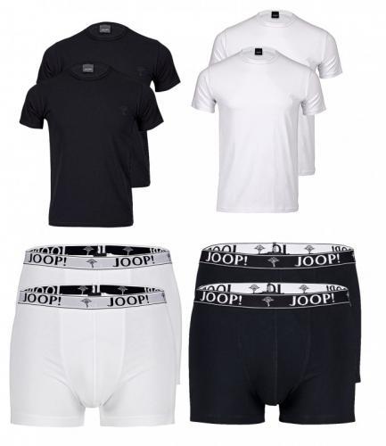 JOOP 2er Pack T-Shirt oder Boxer S M L XL XXL schwarz weiss 19,99 @ ebay WOW