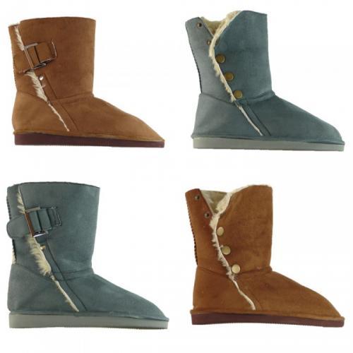 Dirx Schuhe Stiefel Damenschuhe Yeti Boots gefüttert Boots Winterschuhe  16,99 @ ebay WOW