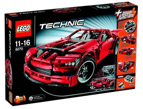 LEGO Technic 8070 - Super Car für nur 66,99€ @ Amazon Adventskalender