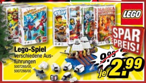 [Poco] Diverse Lego-Spiele für 2,99€