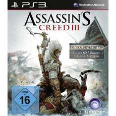 Assassin's Creed 3 für PS3 und Xbox 360 @ Amazon