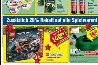 Lego Technik 4x4 bei marktkauf Bayern