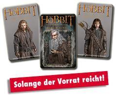 GRATIS 3D Hobbit Sammelkarten von Karamalz
