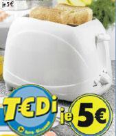 [Offline] Toaster bei Tedi ab Mo 10.12 für € 5.00